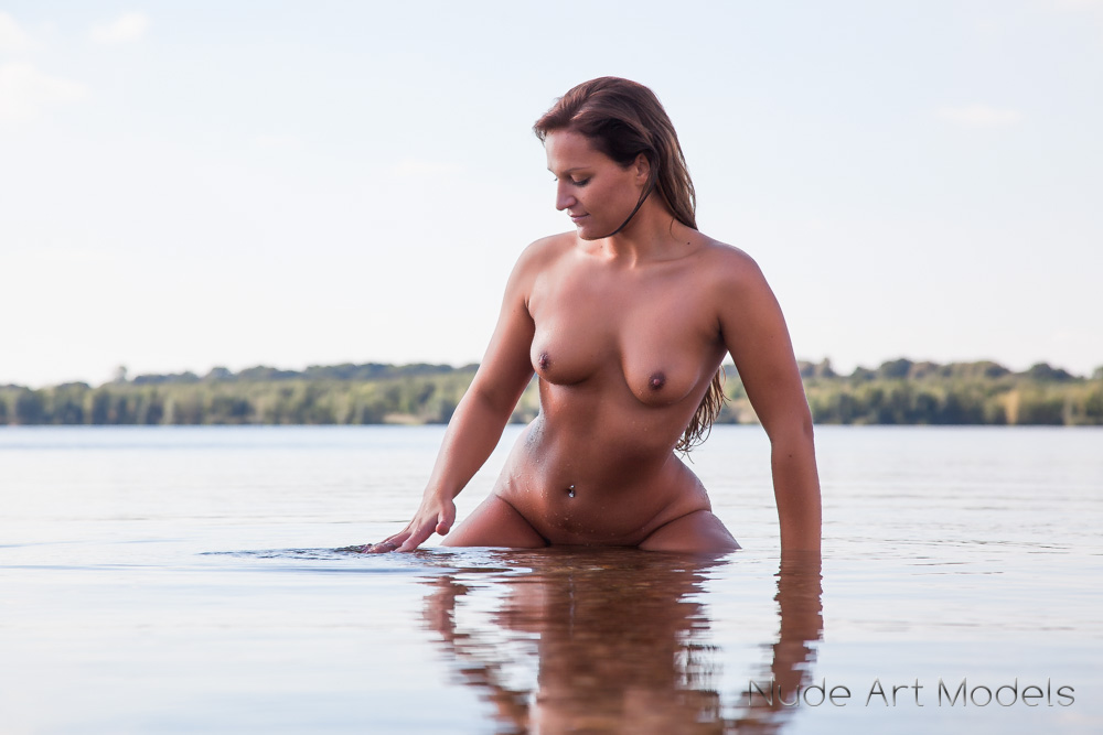 Nude In Water 49